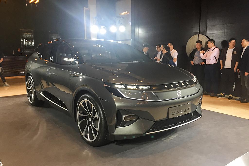 BYTON Concept中国首次亮相 量产车将推两种续航版本/2019年上市