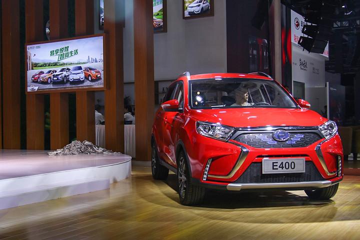 江铃新能源的江铃E400车型正式上市