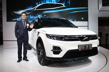 车展群英荟 | 云度新能源刘心文:云度π7契合消费者未来升级需求