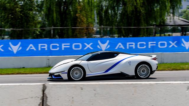 带你了解纯电动超跑北汽新能源ARCFOX 7!不止于快!