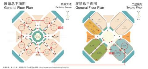 上海车展10个场馆核心重磅车型集锦