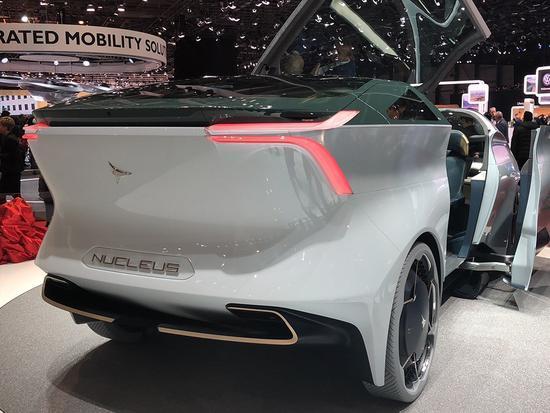 前瞻技术,五级自动驾驶, Icona Nucleus概念车,2018日内瓦车展