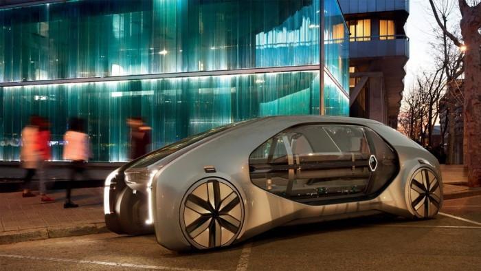 雷诺自动驾驶,雷诺自动驾驶EZ-GO共享概念车