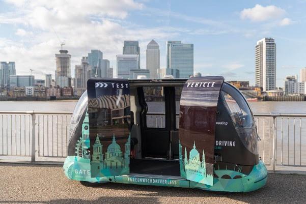 前瞻技术,英国自动驾驶,英国GATEway项目,自动驾驶豆荚车