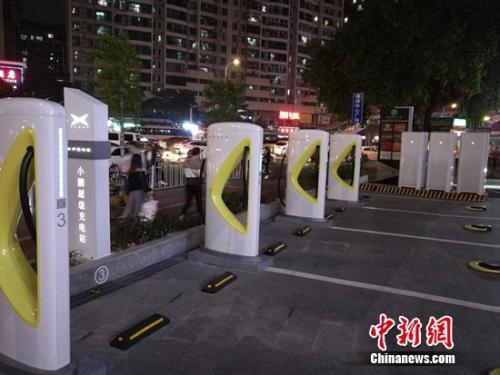 首座国产超充站广州落成 由智充红点设计团队打造