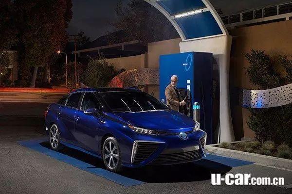 日系车与氢燃料电池车,燃料电池车技术
