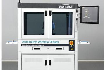 Alfamation为汽车无线充电器推出功能测试仪