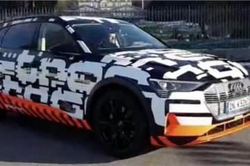 奥迪将在日内瓦展出首款纯电动车e-tron quattro