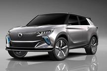 双龙汽车携e-SIV SUV概念车亮相日内瓦车展