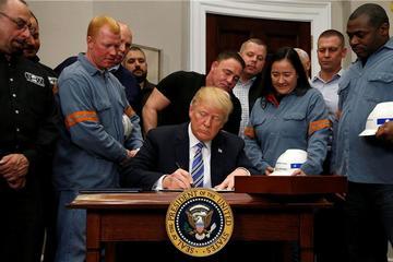 特朗普对进口钢铁及铝制品增收关税 汽车价格或将上涨