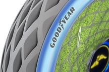 固特异携Oxygene3D打印环保概念轮胎亮相日内瓦车展