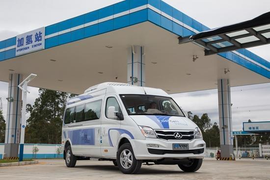 氢燃料电池商业化 上汽大通未来三条技术路线并行