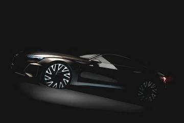 奥迪e-tron GT电动超跑官图曝光 2020年在德国投产
