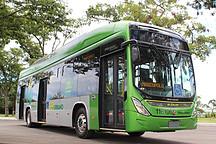 实现本地化生产 比亚迪纯电动大巴于巴西首都巴西利亚正式运营