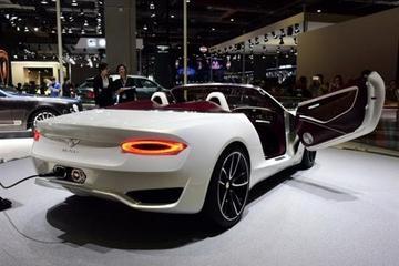 做艺术品电动车 宾利2025年实现电动化