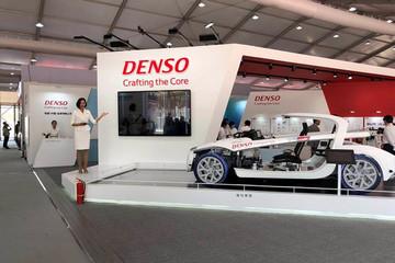 电装携智能互联模型车亮相北京车展