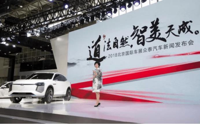 众泰新能源北京车展阵容报告