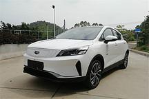 吉利首款纯电动城市跨界SUV曝光 续航或超400km