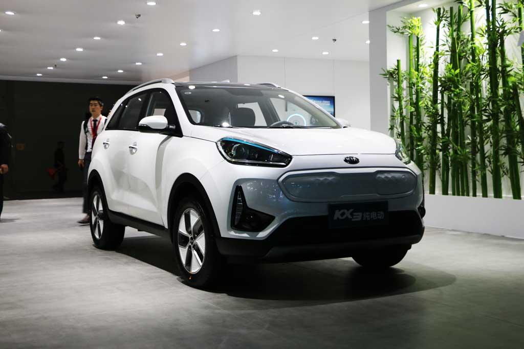 【新车驾到】东风悦达起亚KX3EV亮相广州车展 补贴后售14.73万元