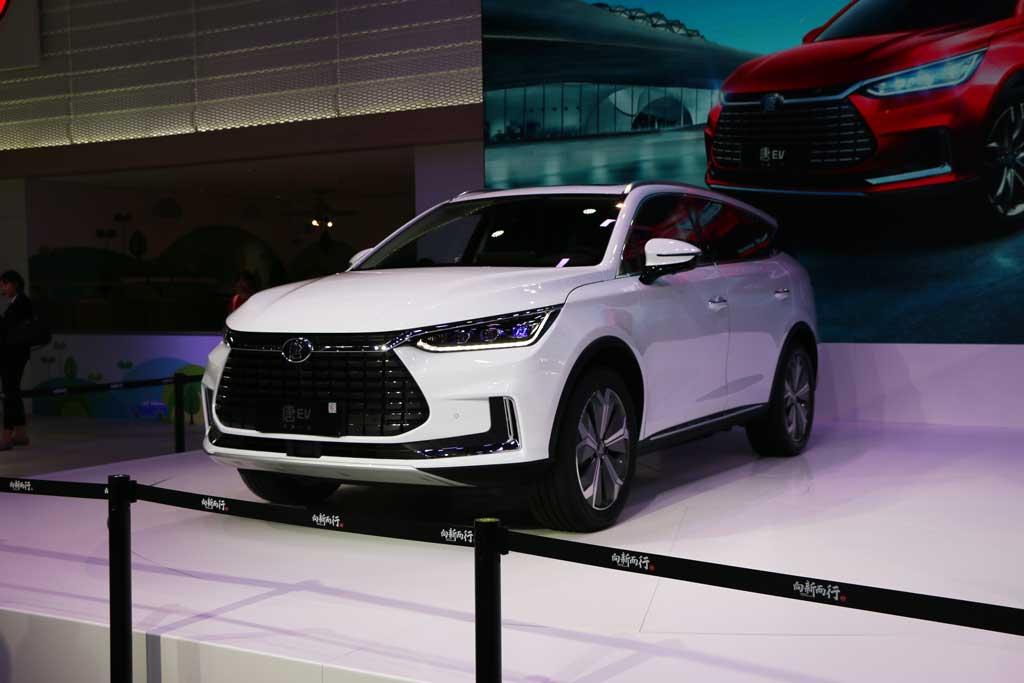 【新车驾到】比亚迪宋MAX DM亮相广州车展 唐EV补贴后预售价26万-36万元