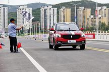 """环青赛中的 """"小钢炮"""" A0级纯电SUV领途K-ONE百公里加速9.6秒夺冠,成全场焦点!"""