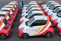 知豆20台微型纯电动汽车正式交付韩国邮政