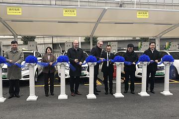 ABB支持BP以及66快充建立BP国内首个电动汽车直流快充示范站