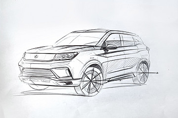 i9设计图炫酷来袭 雷丁三款新车正式命名公布