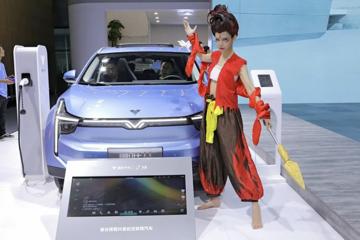 从广州车展看哪吒汽车的三头六臂