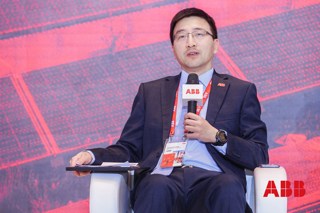 ABB电气智慧电力亚洲大区负责人何晓晖畅谈创新观点.JPG