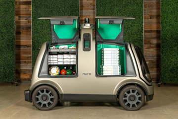 无人餐车送外卖,再也不用担心外卖打翻,你会选择无人餐车外卖吗