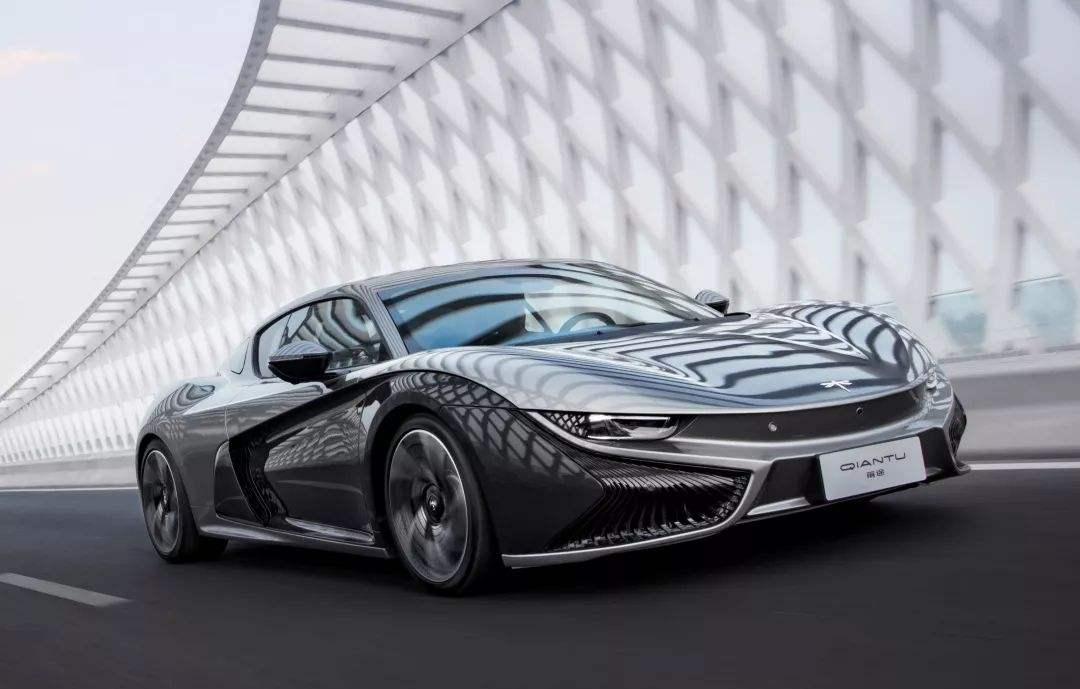 前途K50首款国产电动跑车亮相,售价近70万