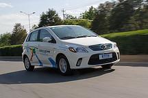 200km没问题 北汽新能源EV200续航实测