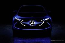 """你没见过的""""血管灯"""" 奔驰全新EQA概念车细节图曝光"""