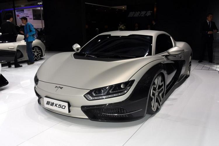 长城华冠首款纯电动跑车 前途K50将于2018年6月上市