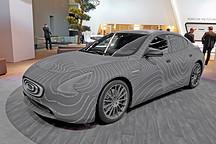 昶洧首款量产纯电动轿车的雏形:TP-01原型车