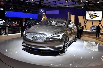 与日产聆风动力系统相同 英菲尼迪电动概念车2018年亮相