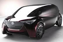 燃料电池MPV车型 丰田Fine-Comfort Ride概念车官图发布