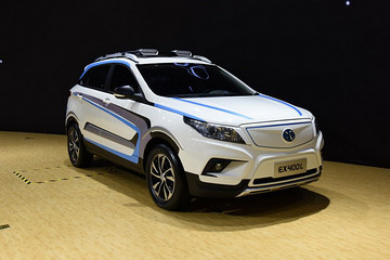 新车EX400L概念车打造 北汽新能源ET400将于11月17日发布