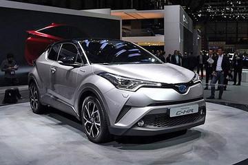 广汽丰田CH-R将亮相广州车展 最早2018年上市