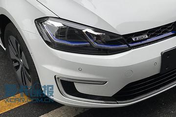 与现款相差无几 2017广州车展e-Golf提前看