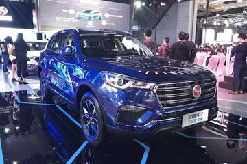 汉腾X7双模混动版即将亮相2017广州车展