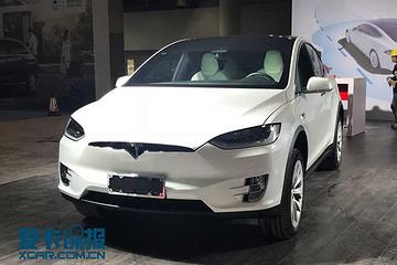 2017广州车展|邦热点 MODEL X国标版实车