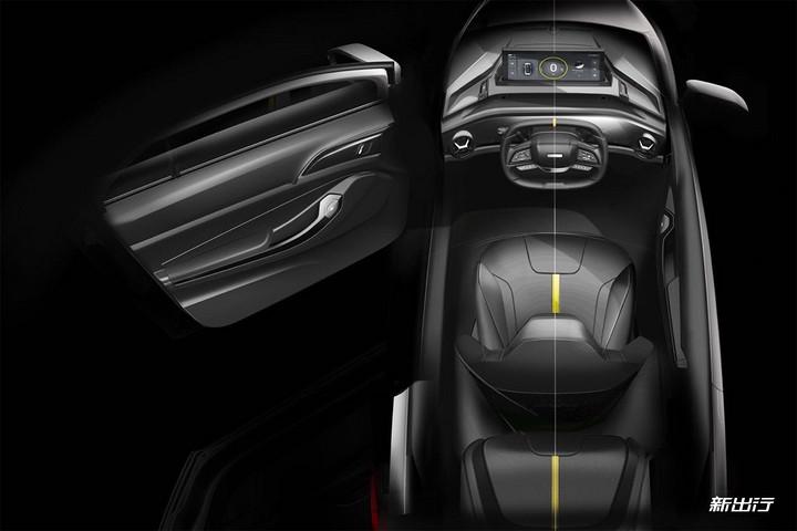 换挡结构采用与奔驰类似的怀挡,驾驶者坐进车内之后挂挡即可启动