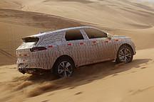 独家曝光比亚迪全新一代 SUV 沙漠谍照 542 技术和新四驱系统