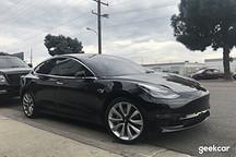 洛杉矶半日记:我们抓获了几辆野生 Model 3,还独家拍到 FF91 路试视频