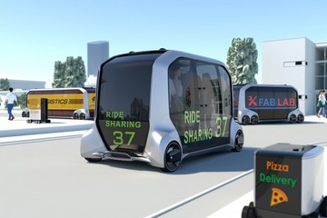 CES 2018 | 丰田想做无人驾驶生态系统,我看它更像是未来的「商业地产」项目