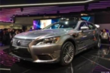2018 CES:雷克萨斯自动驾驶车正式亮相