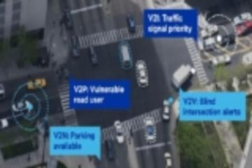 麦凯恩与高通在2018 CES上展示C-V2X技术