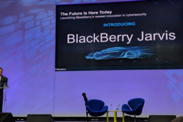 黑莓发布面向自动驾驶汽车的安保软件Jarvis